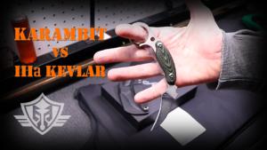 karambit vs body armor