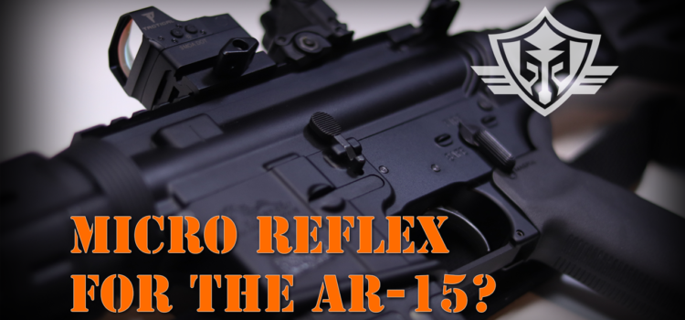 AR-15 Rifle and Micro reflex Sight